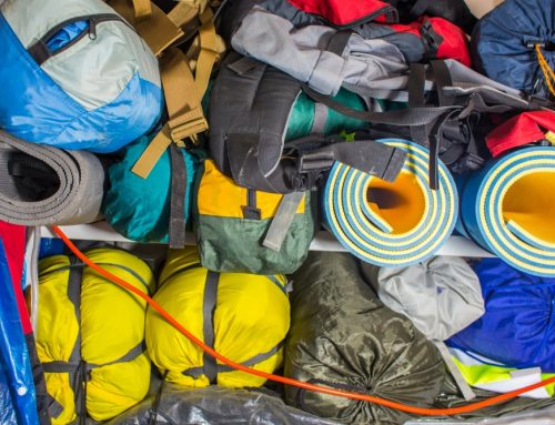 Storing your camping gear