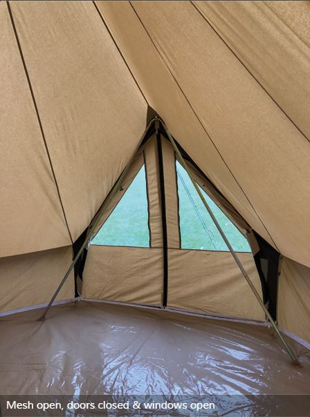 Quest Elite Signature Emperor Bell Tent Crowland